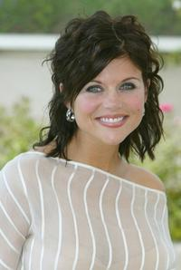 Tiffani-Amber Thiessen at the 55th International Film Festival.