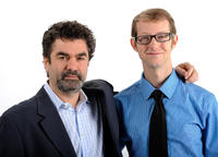 Director Joe Berlinger and Jason Baldwin at the 84th Academy Awards Nominations Luncheon in California.