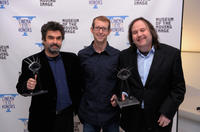 Director Joe Berlinger, Jason Baldwin and Bruce Sinofsfy at the 5th Annual Cinema Eye Honors for Nonfiction Filmmaking in New York City.