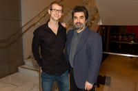 Jason Baldwin and director Joe Berlinger at the California premiere of