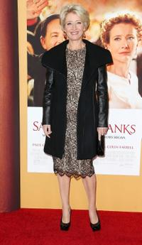 Emma Thompson at the California premiere of