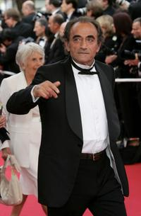 Richard Bohringer at the 58th International Cannes Film Festival premiere of