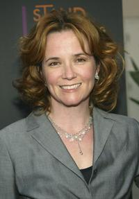 Lea Thompson at the First Annual stand up for Mentoring Evening of Comedy.