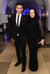 Fady Elsayed and Guest at the 56th BFI London Film Festival Awards.