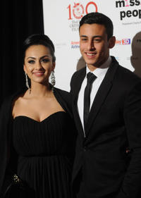 Fady Elsayed and Guest at the London Critics' Circle Film Awards.