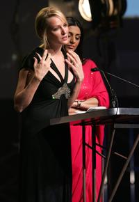 Uma Thurman at the 17th Annual Gotham Awards.