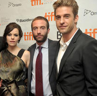 Emily Hampshire, Jacob Tierney and Scott Speedman at the Canada premiere of