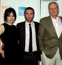 Emily Hampshire, Jacob Tierney and Michael Murphy at the New York premiere of