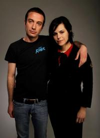Jacob Tierney and Emily Hampshire at the Tribeca Film Festival 2010.