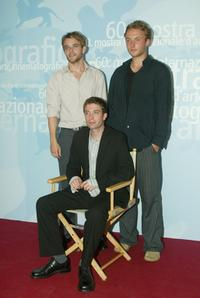 Nick Stahl, Jacob Tierney and Joshua Close at the 60th Venice Film Festival.