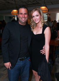 Producer Randall Emmett and Ambyr Childers at the after party of the Canada premiere of