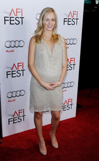 Ambyr Childers at the premiere of