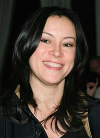 Jennifer Tilly at the grand opening of the Whisper Lounge.