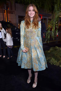 Alice Englert at the California premiere of