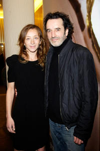 Sylvie Testud and Bruno Todeschini at the premiere of