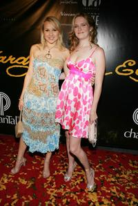 Alana Curry and Nicholle Tom at the Christian Audigier Fashion Show launching Ed Hardy Vintage Tattoo Wear.