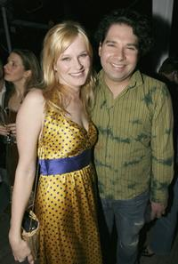 Nicholle Tom and Joel Michaely at the Los Angeles Confidential Pre-Oscar party.