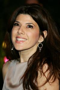 Marisa Tomei at the 2007 Vanity Fair Oscar Party.