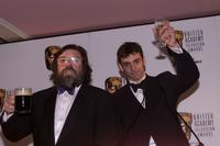 Ricky Tomlinson and Ralph Little at the BAFTA Television Awards.