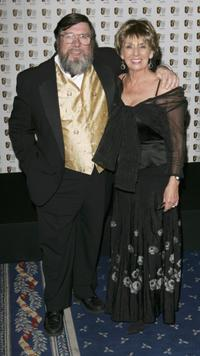 Ricky Tomlinson and Sue Johnston at the British Academy Television Awards 2006.
