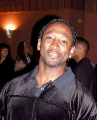 Joe Torry at the musical premiere of