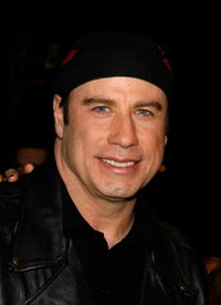John Travolta at the Hollywood premiere of