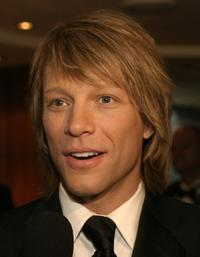 Jon Bon Jovi at the Entertainment Industry Foundation's (EIF's) colon cancer benefit.