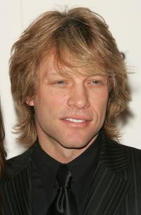 Jon Bon Jovi at the amfar and ACRIA gala benefit honoring photographer Herb Ritts .
