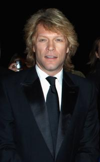 Jon Bon Jovi at the UK Music Hall Of Fame 2006.