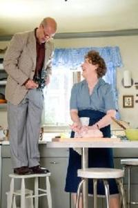 Stanley Tucci as Paul Child and Meryl Streep as Julia Child in