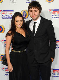 James Buckley and Guest at the British Comedy Awards 2011 in London.