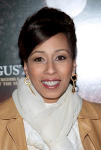 Tamara Tunie at the premiere of