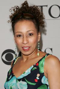 Tamara Tunie at the 2007 Tony Awards nominees press reception.