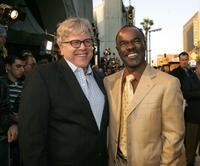 Producer Howard Baldwin and Glynn Turman at the premiere of
