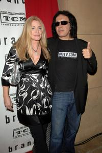 Shannon Tweed and Gene Simmons at the premiere and party for TCM's