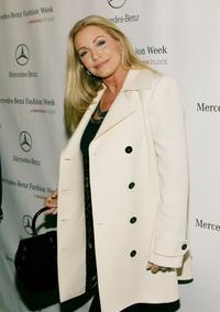Shannon Tweed at the Mercedes-Benz Fashion Week.