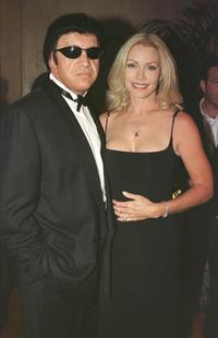 Gene Simmons and Shannon Tweed at the 2000 Hollywood Film Awards Gala Ceremony.