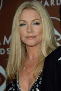 Shannon Tweed at the 48th Annual Grammy Awards.