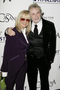 Twiggy and her husband Leigh Lawson at the UK premiere of
