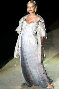 Twiggy at the Spring-Summer 2003.