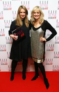 Twiggy and Anya Hindmarch at the Elle Style Awards 2008.