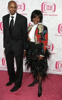 Cicely Tyson and guest at the 5th Annual TV Land Awards.
