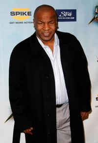 Mike Tyson at the Spike TV's 2008 Video Game Awards.