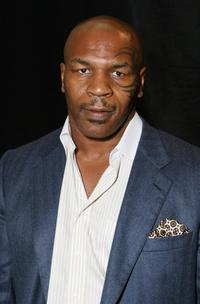 Mike Tyson at the 2007 BET Awards after party.