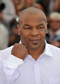 Mike Tyson at the photocall of