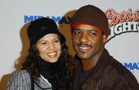 Desiree and Blair Underwood at the premiere of
