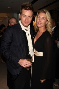 Deborah Kara Unger and Ewan McGregor at the premiere of