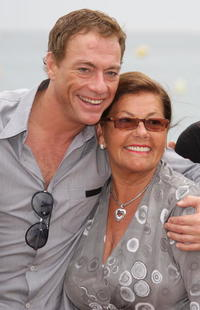 Jean-Claude Van Damme and Guest at the photocall of