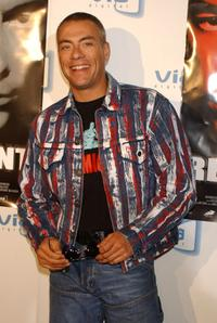 Jean-Claude Van Damme at the Spanish premiere of