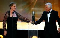 Dick Van Dyke and Julie Andrews at 13th Annual Screen Actors Guild Awards.